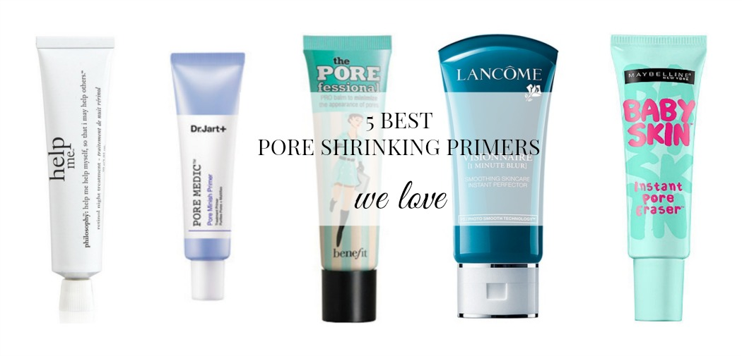 Lancôme Visionnaire 1 Minute Blur, Dr. Jart+ Pore Medic Pore Minish Primer, Benefit The POREfessional, Maybelline Baby Skin Instant Pore Eraser, 5 best pore minimizers, the best pore primers, the best pore shrinking primers, Philosophy Help Me Cream,