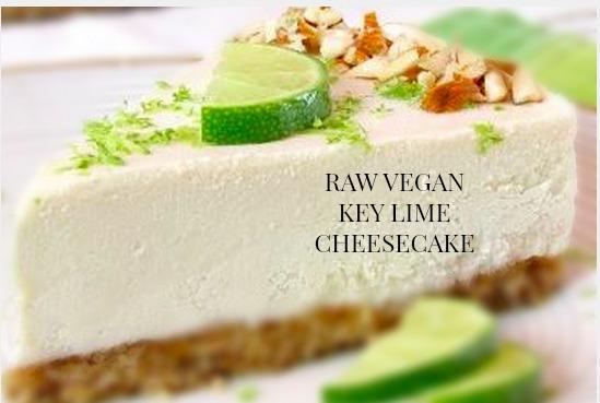 Raw vegan key lime cheesecake, cheesecake recipe, raw vegan cheesecake