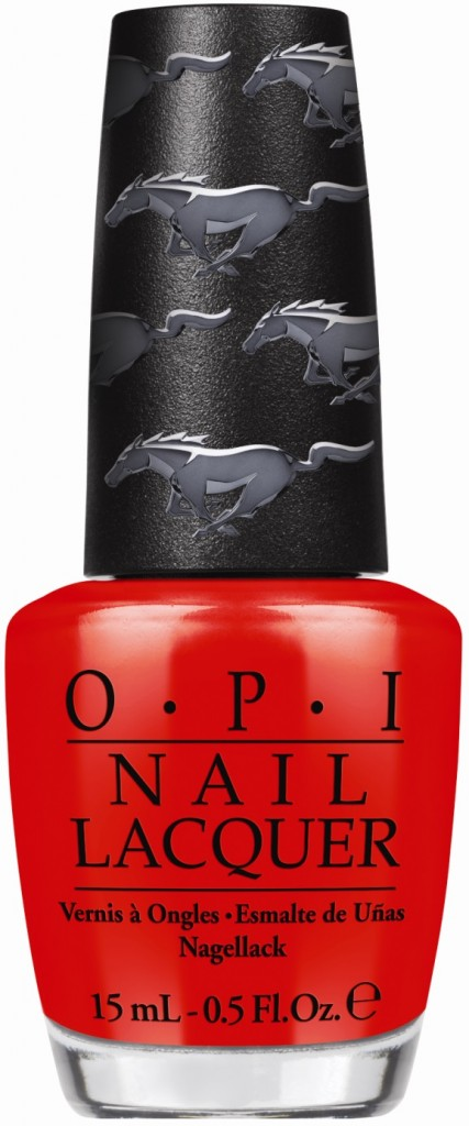 Race Red, Ford Mustang Opi Limited Edition Nail Lacquers