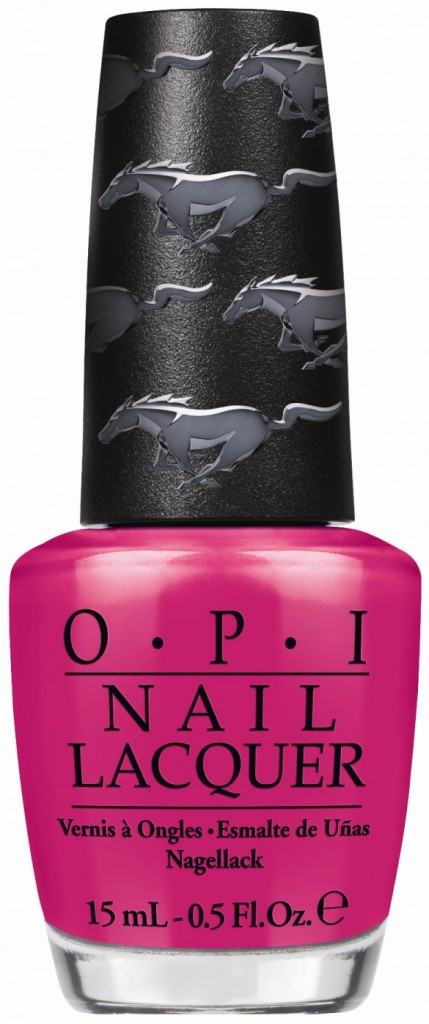 Girls Love Ponies Ford Mustang Opi Limited Edition Nail Lacquers