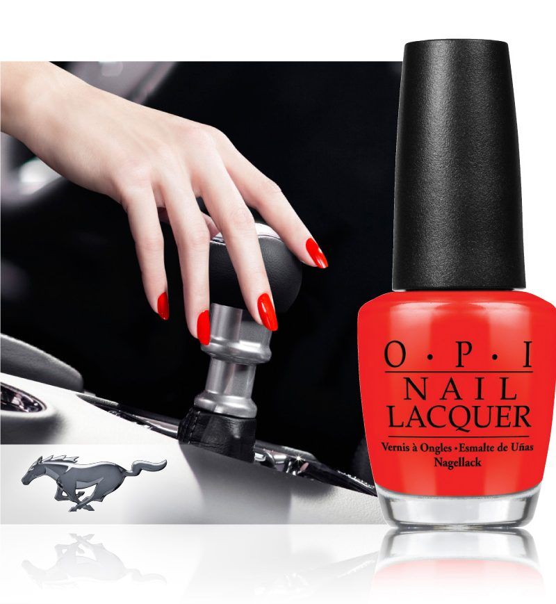 OPI Partners with Ford to Launch New Limited Edition Nail Lacquers