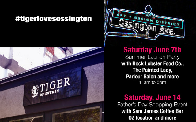 Toronto Events: #TigerLovesOssington