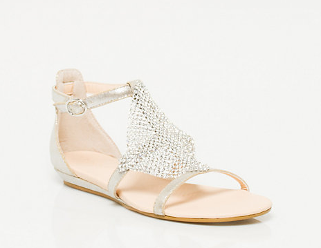 Silver sandals for beach wedding, Shoes for a Beach Wedding