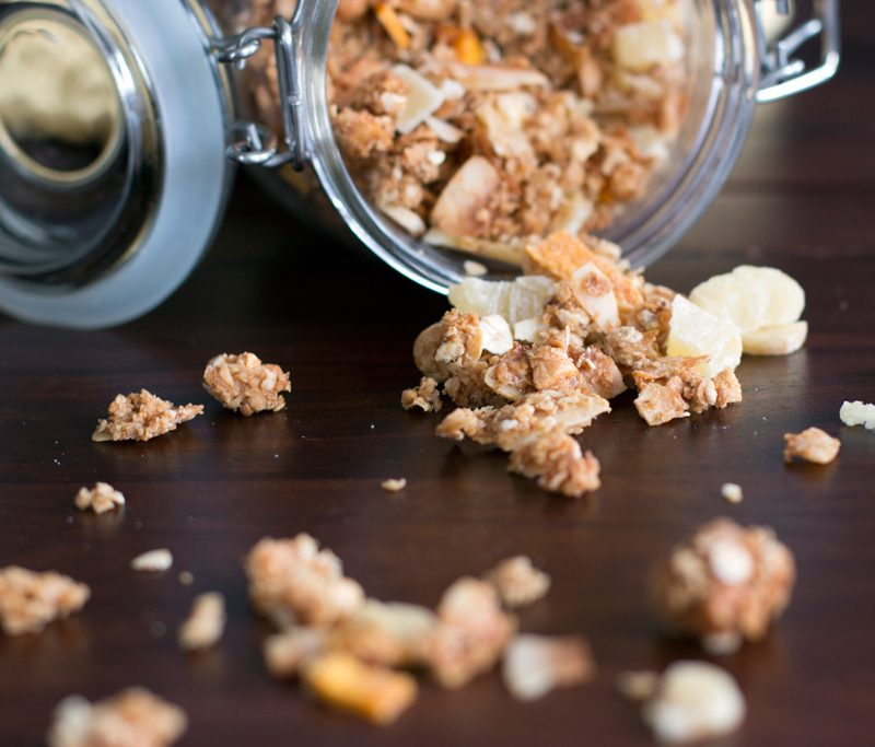 Sweet Granola Recipe