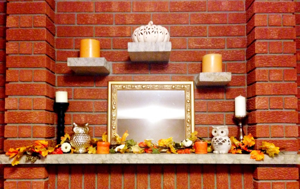 How to decorate your mantel for thanksgiving chic darling How to decorate your house for thanksgiving