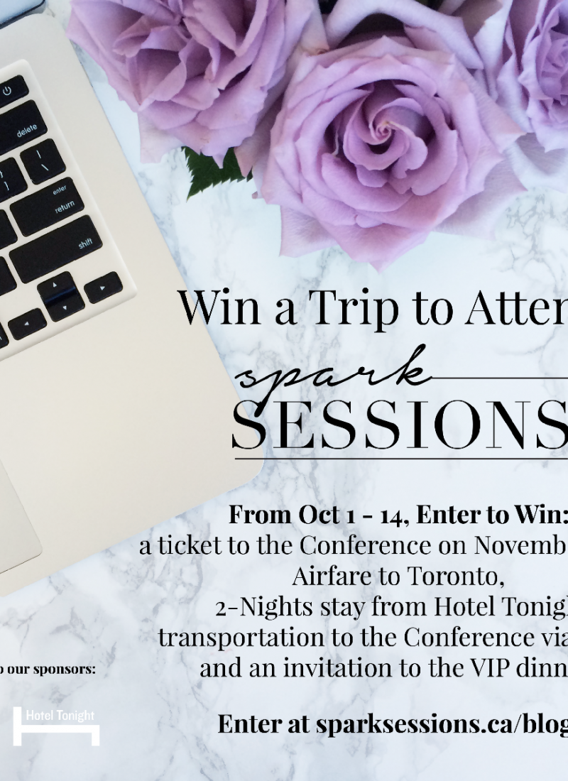 Win A VIP Trip To Spark Sessions!