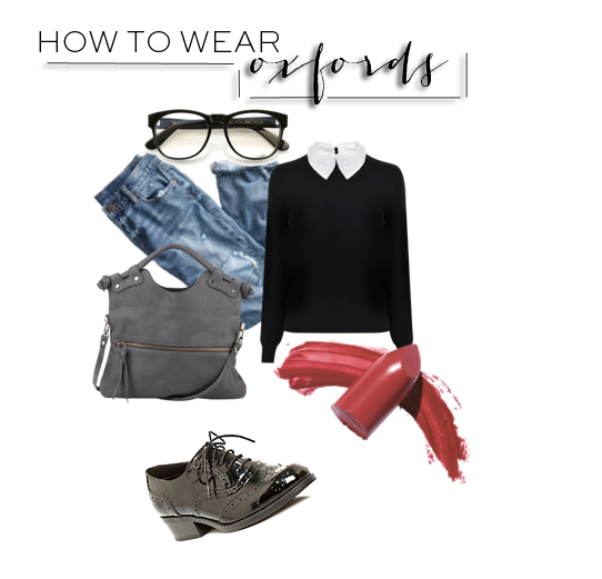 how to wear oxfords