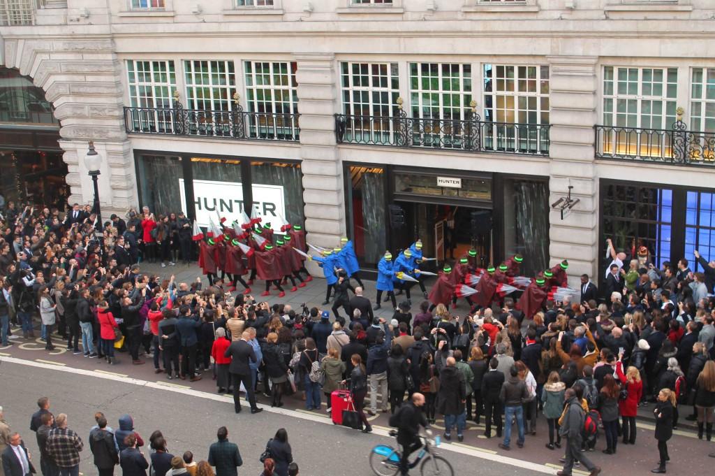 Hunter Regent Street Opening - Aerial