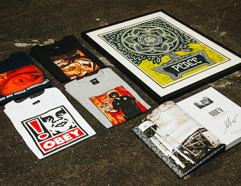 OBEY 25th Anniversary Collection