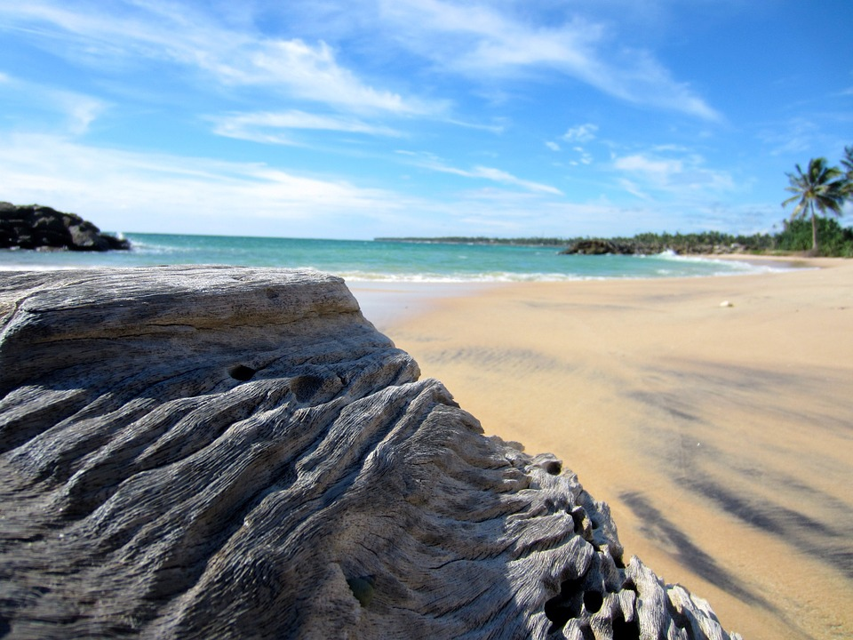 Beach in Sir Lanka