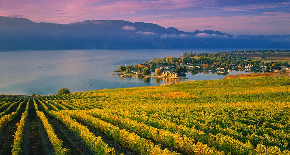 Kelowna, BC is one of the 3 Must-See Hidden Secrets of British Columbia