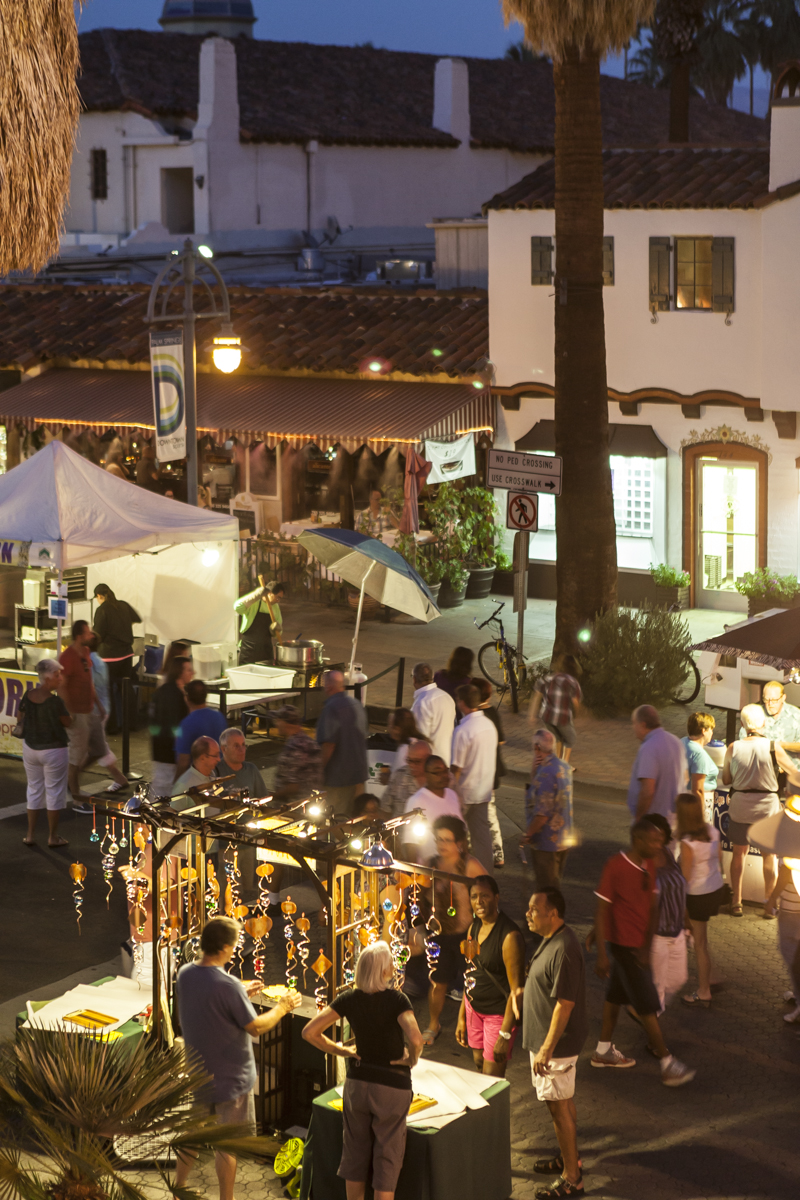 VillageFest (Image: Palm Springs Bureau of Tourism)