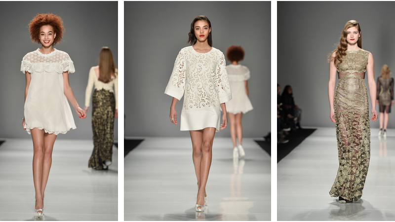 Narces Fall Winter 2015, cute white dresses