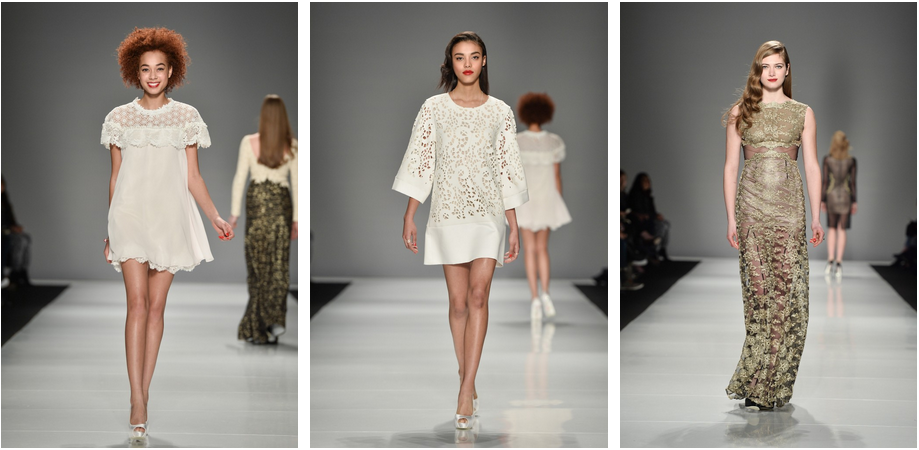 Narces Fall Winter 2015, cute white dresses