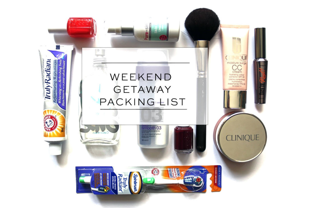 How to Pack For a Quick Weekend Away