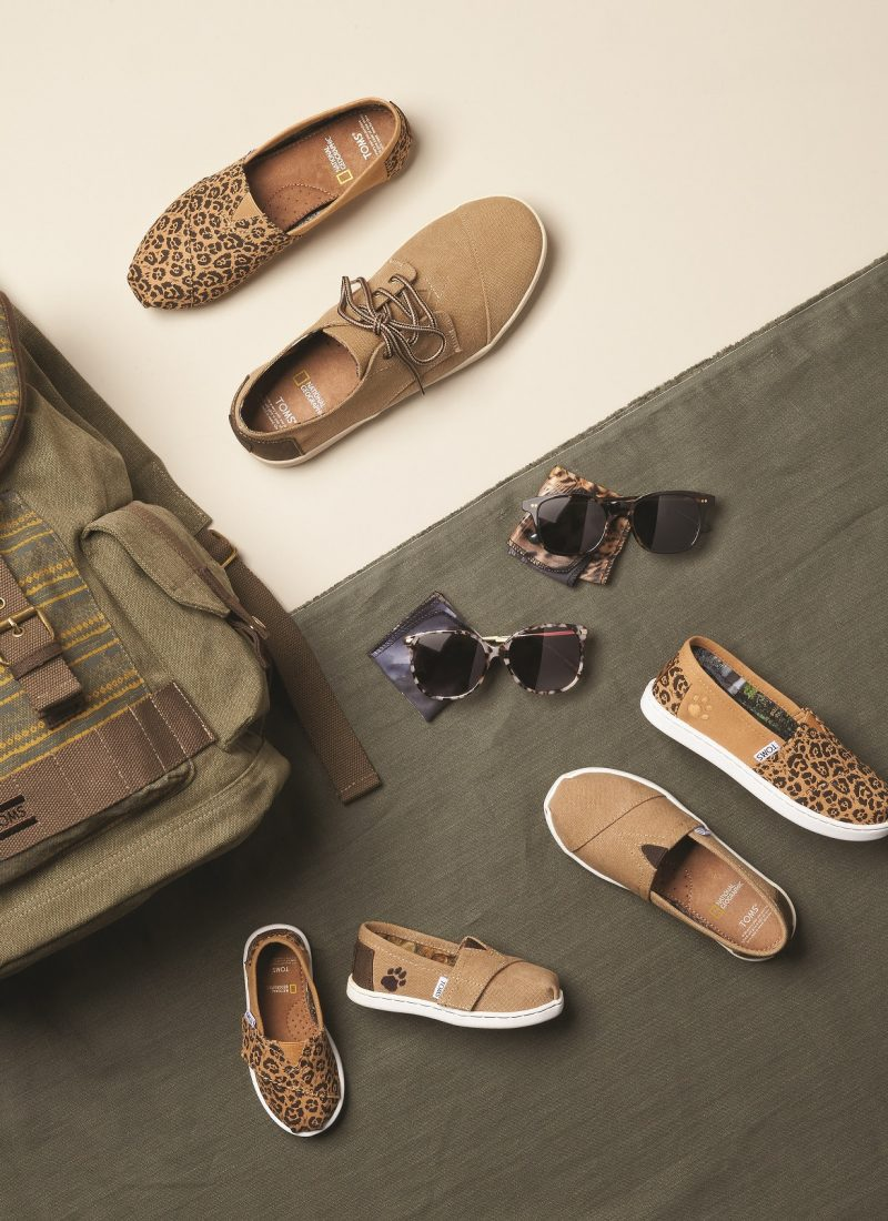 TOMS and National Geographic Launch Big Cats Collection