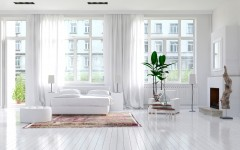 Large spacious monochromatic white bedroom with fireplace, Lifesaving Resources and Tips for New Tenants