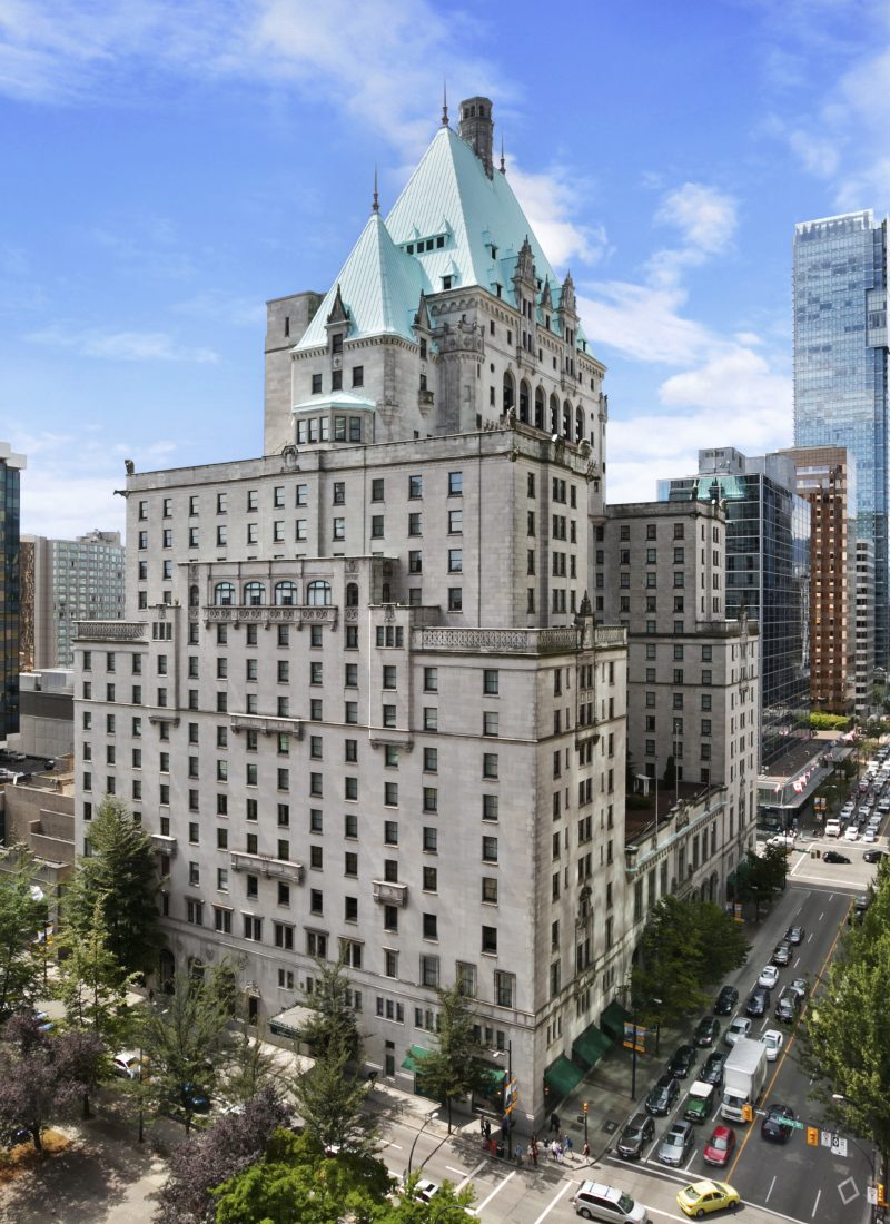 Hotel Review: Fairmont Hotel Vancouver