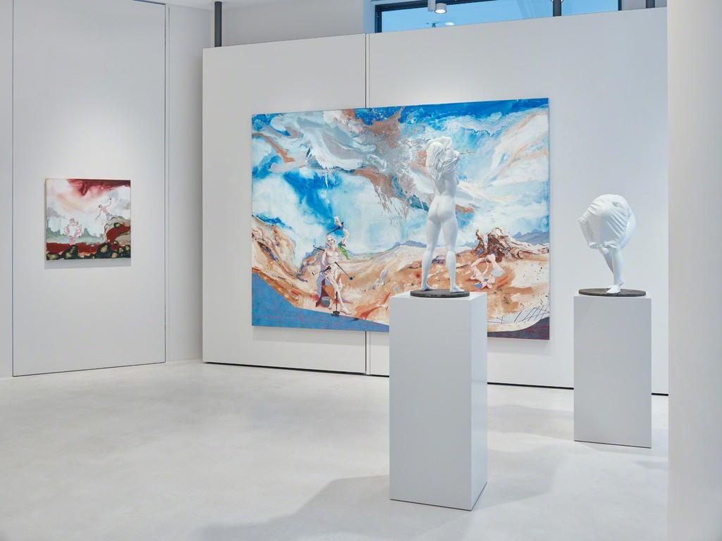 Satareh Gallery in Dusseldorf Germany