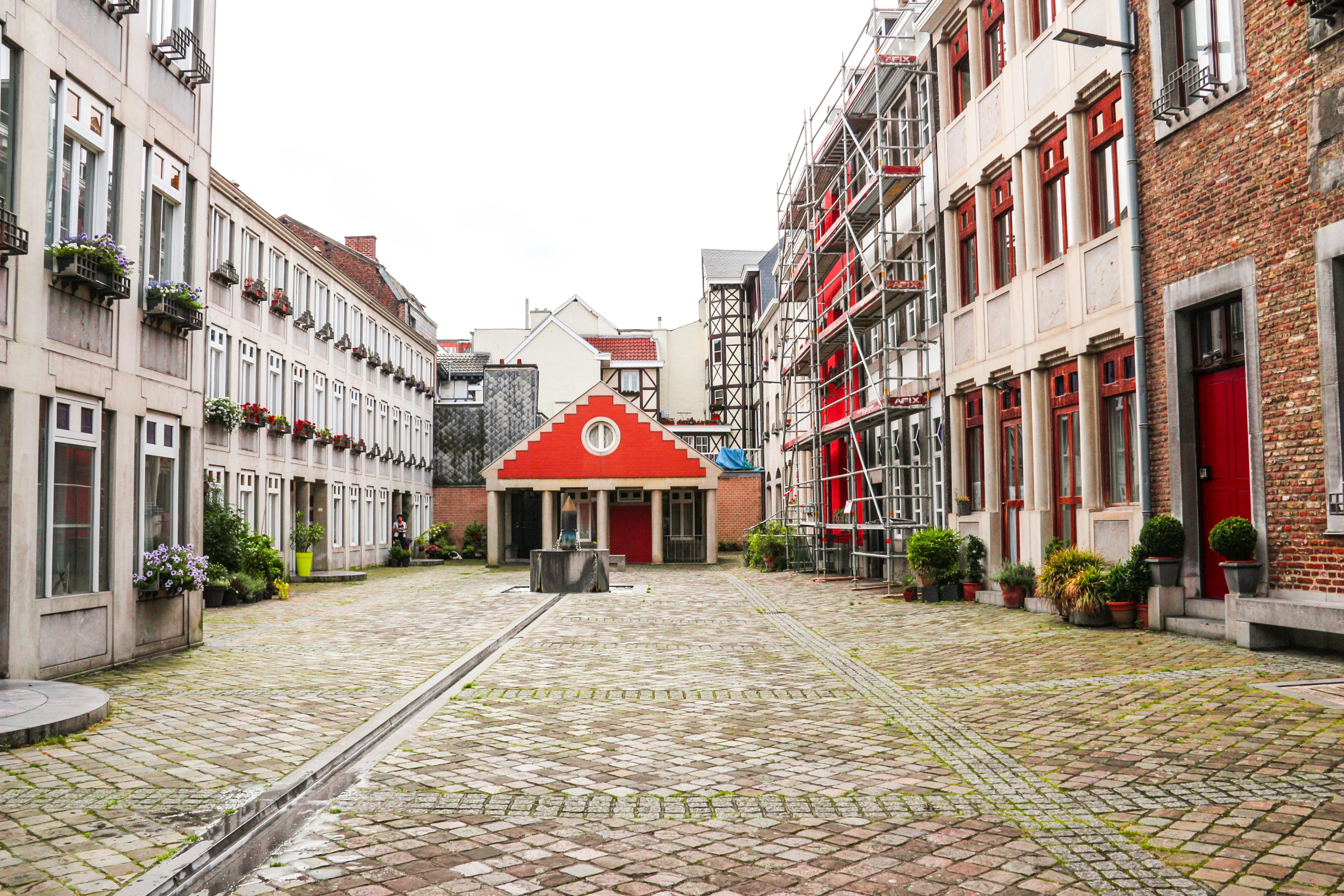 A guide to Liege Belgium. Everything you need to know before you take a weekend trip there including a climb down Montagne de Bueren