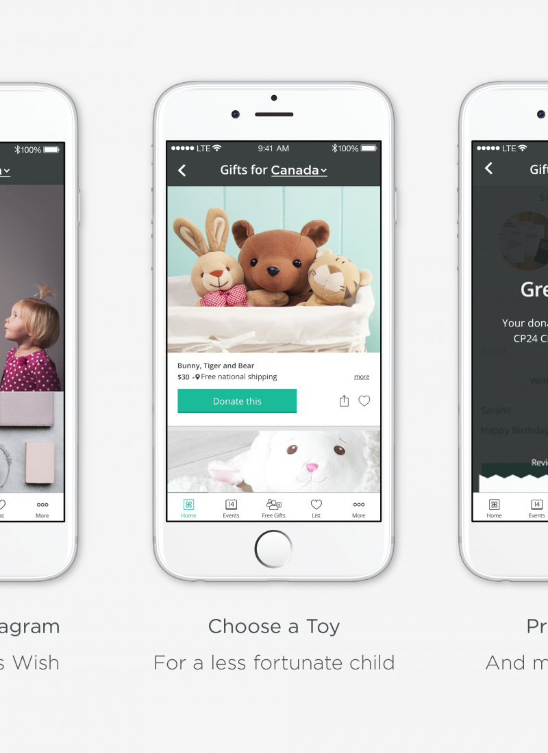 Donating Gifts the Easy Way With Giftagram's Toy Drive
