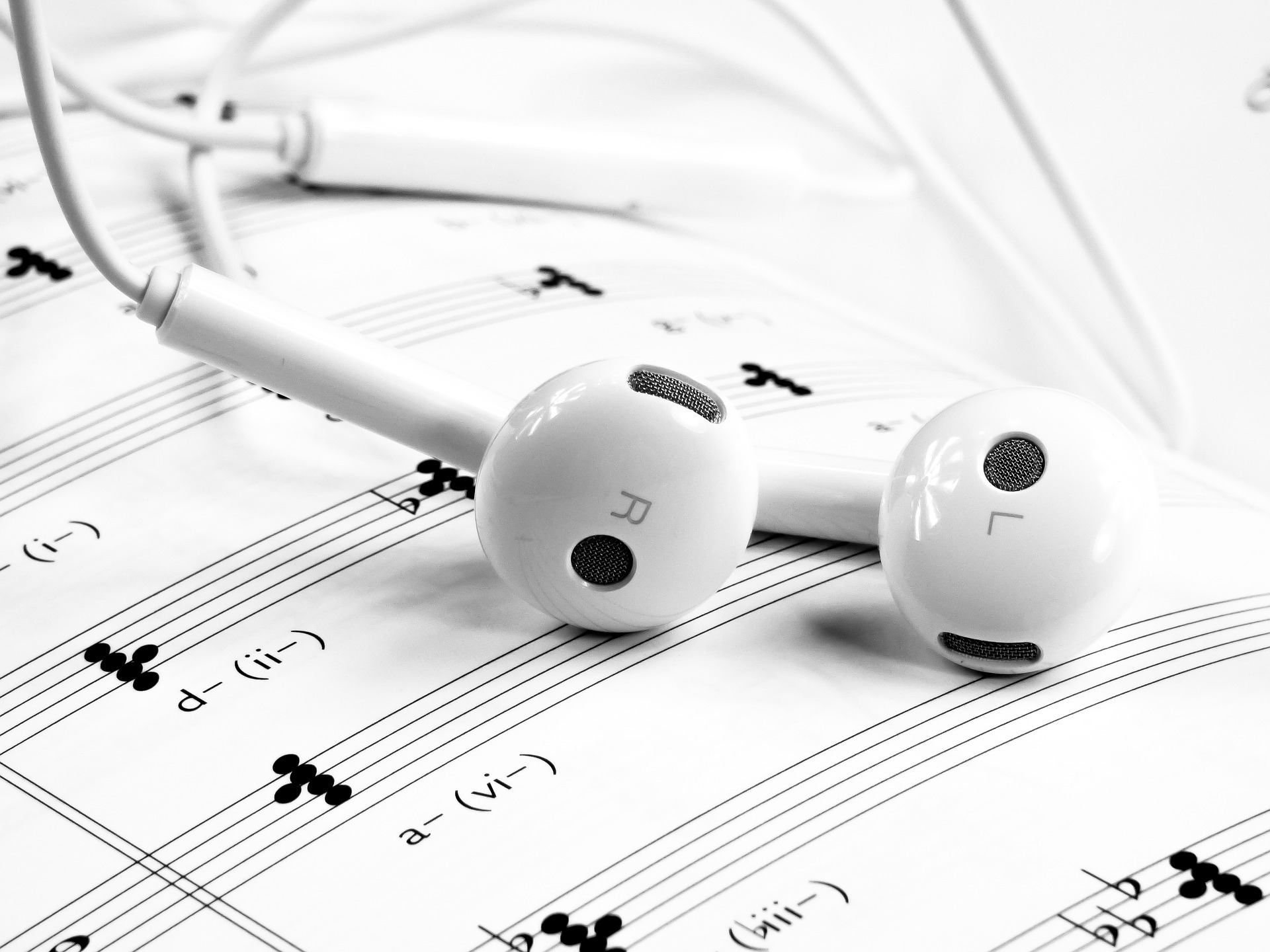 White headphones, gadgets for women